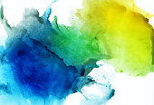istock Abstract watercolor background 918098512