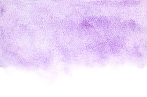 Abstract watercolor background, Purple watercolor brushed painted abstract background, Design and decoration banner, Space for text