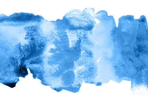 605740894 istock photo Abstract watercolor background with blue and lilac stains. 1192076244
