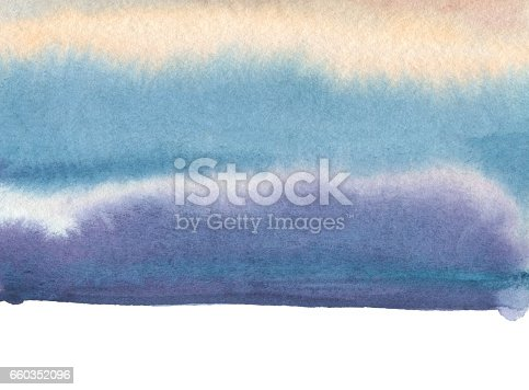 649796262istockphoto Abstract watercolor blot painted background. Texture paper. Isolated. Business card template. 660352096