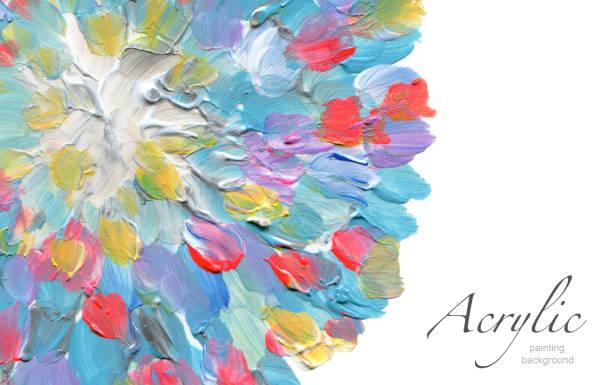 Abstrakte Aquarell Fleck Hintergrund gemalt. Textur-Papier. Isoliert. Visitenkarte-Vorlage. – Foto