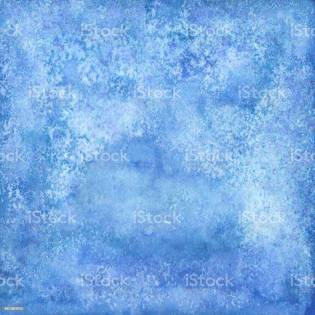 Abstract watercolor blue texture,  isolated on white background. Watercolor background. stock photo