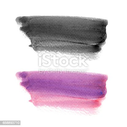 847999586 istock photo Abstract watercolor brush stroke background. 658893710