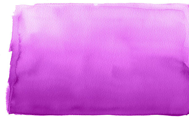 abstract watercolor gradient purple background on rough textured - purple watercolor stock photos and pictures