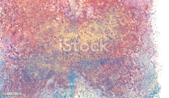 939873258 istock photo abstract watercolor paint textural background with pink, blue and yellow spots, gradients, nature on white background 1188878815