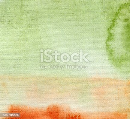 istock Abstract watercolor painted background 649795530