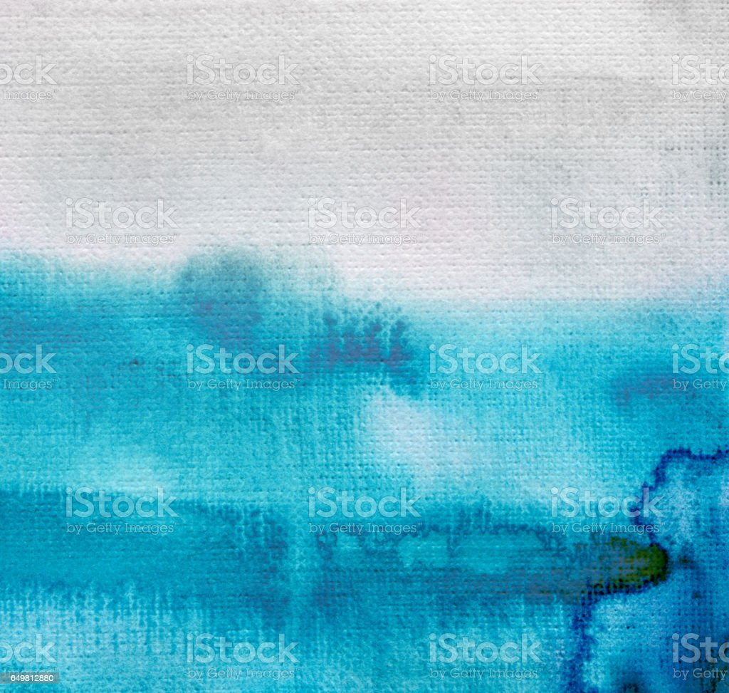 Abstract watercolor painted background stock photo