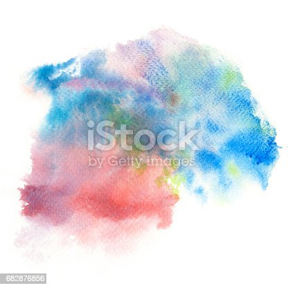 847999586 istock photo Abstract watercolor splash background. 682876856
