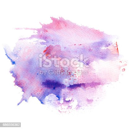847999586 istock photo Abstract watercolor splash background. 686556362
