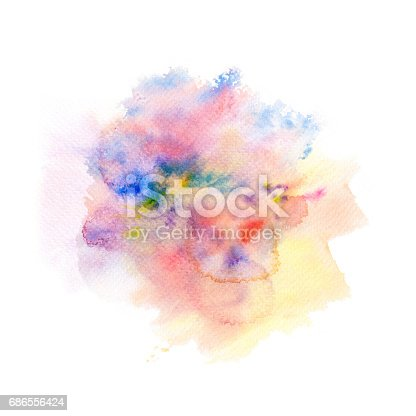 847999586 istock photo Abstract watercolor splash background. 686556424