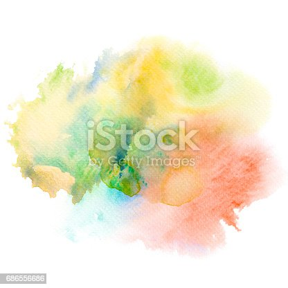 847999586 istock photo Abstract watercolor splash background. 686556686