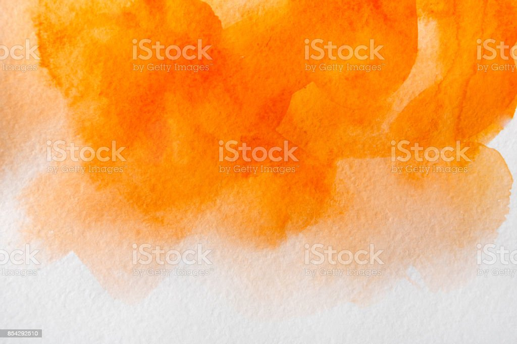 Abstract watercolor spot painted texture background stock photo