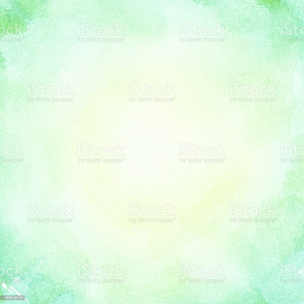 Abstract watercolor sun. Hot summer background. royalty-free stock photo