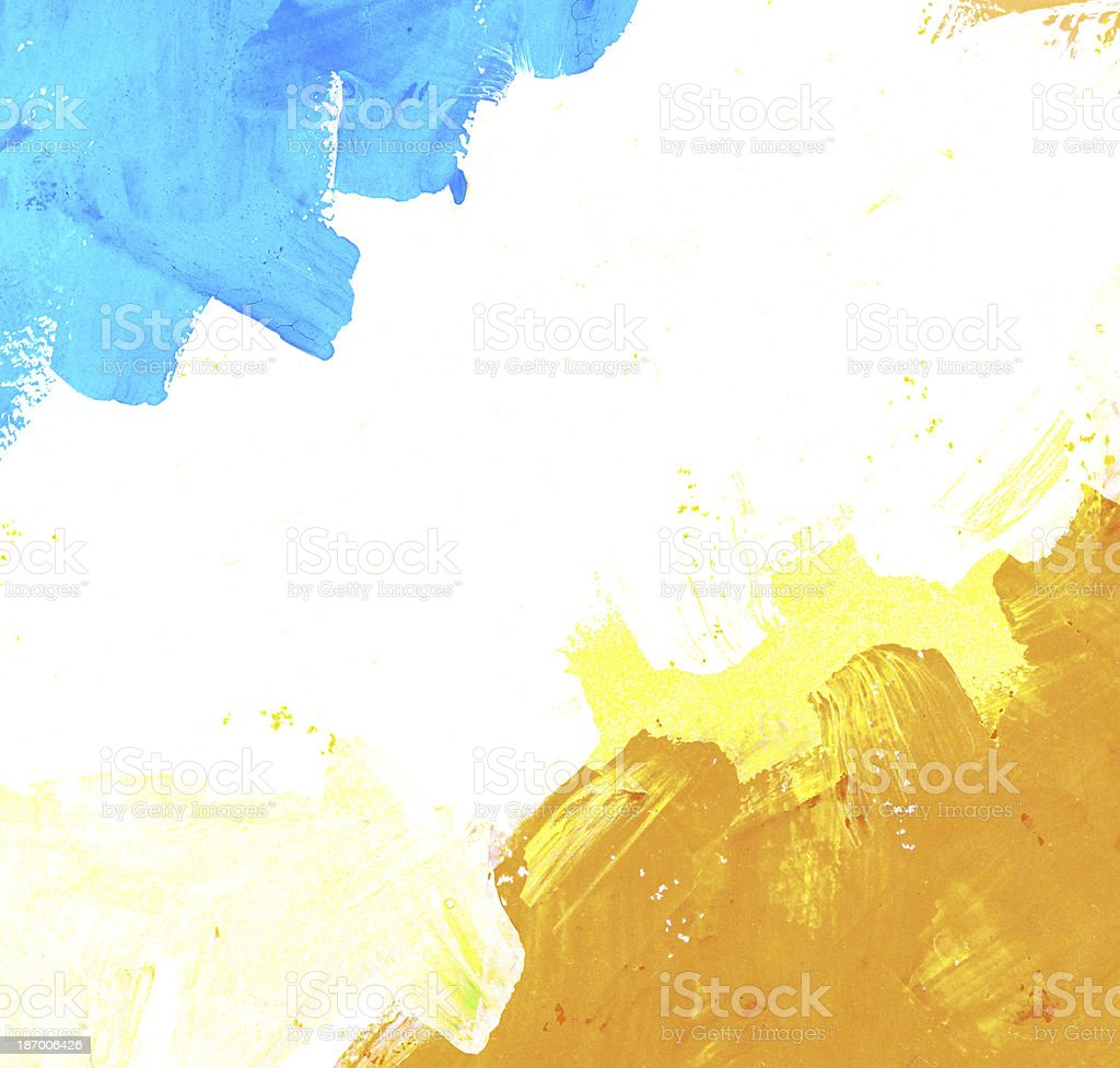 Abstract watercolor with space for text royalty-free stock photo