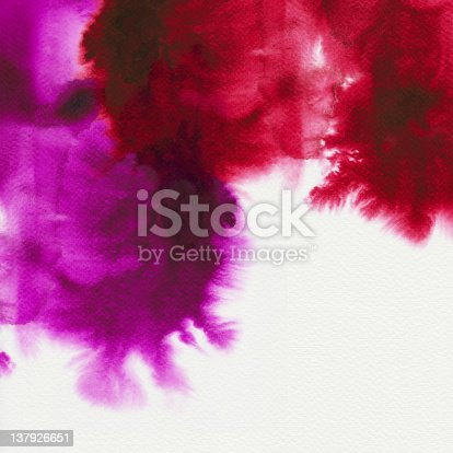 istock Abstract watercolors 137926651
