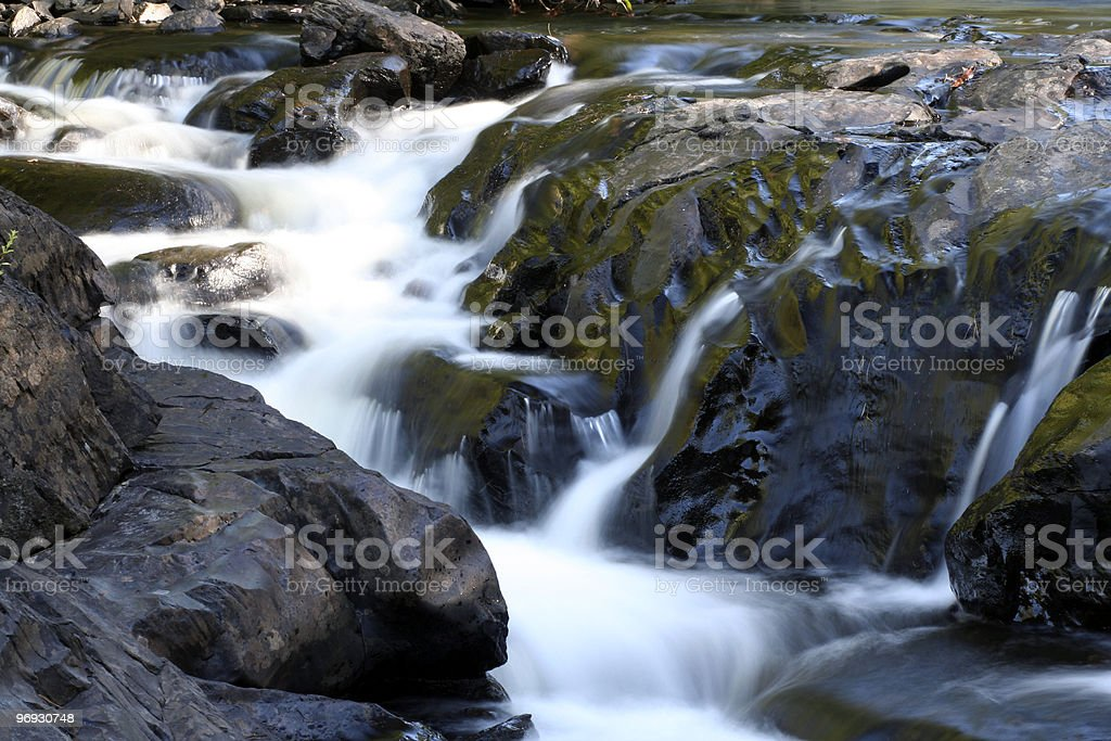 Abstract waterfall royalty-free stock photo