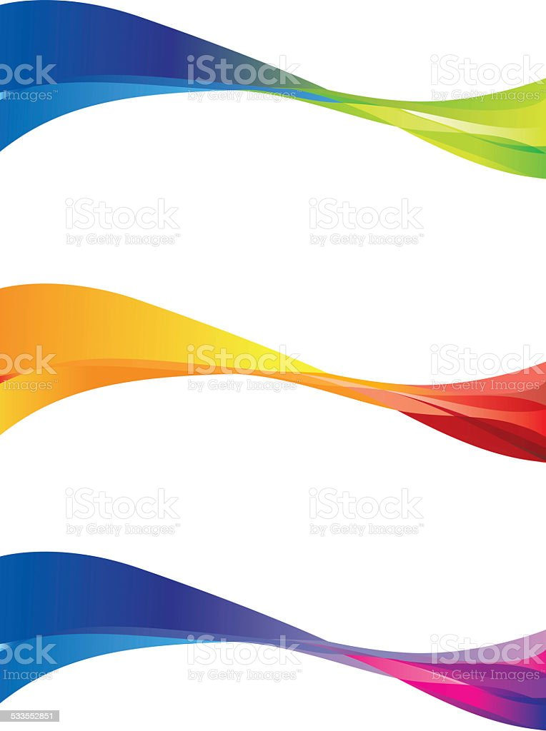 Abstract wave stock photo