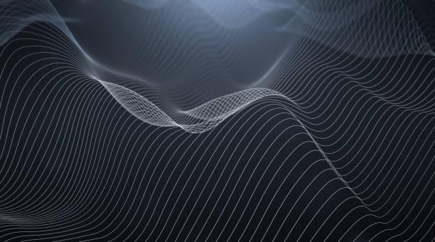 Abstrakte Wellenlinien – Foto