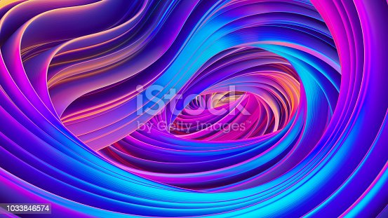 1038727610istockphoto Abstract wavy ribbon backdrop for festive celebration banners and posters 1033846574