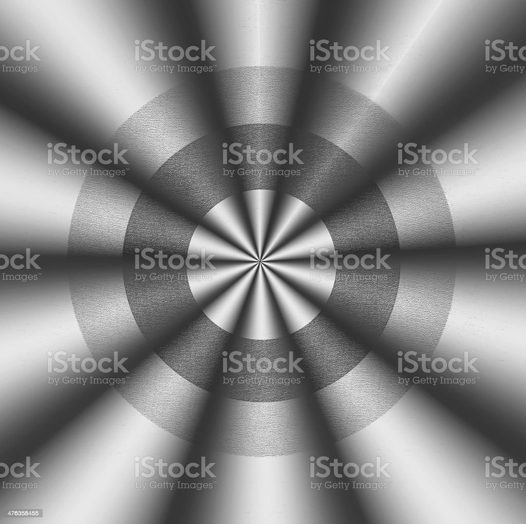 abstract wavy shape pointing in one direction royalty-free stock photo