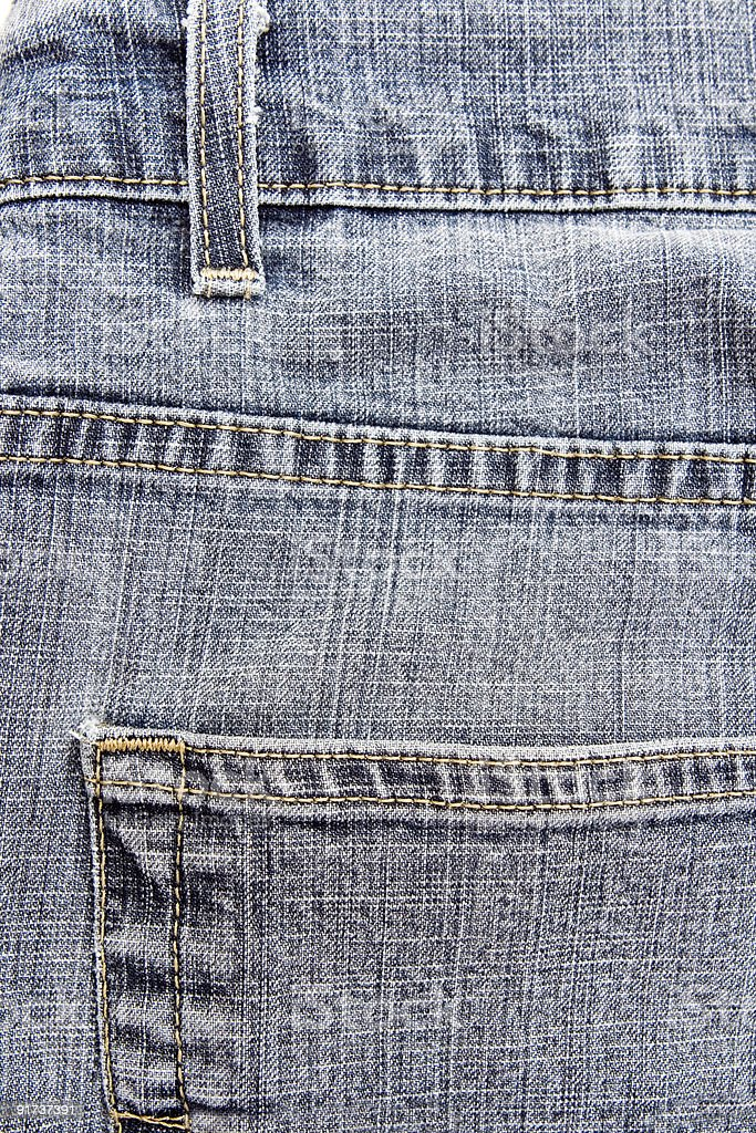 abstract well weathered jeans royalty-free stock photo