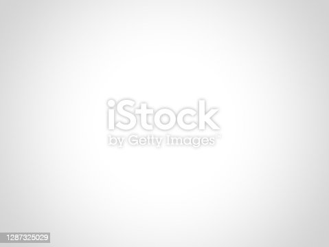 Abstract white and gray gradient background