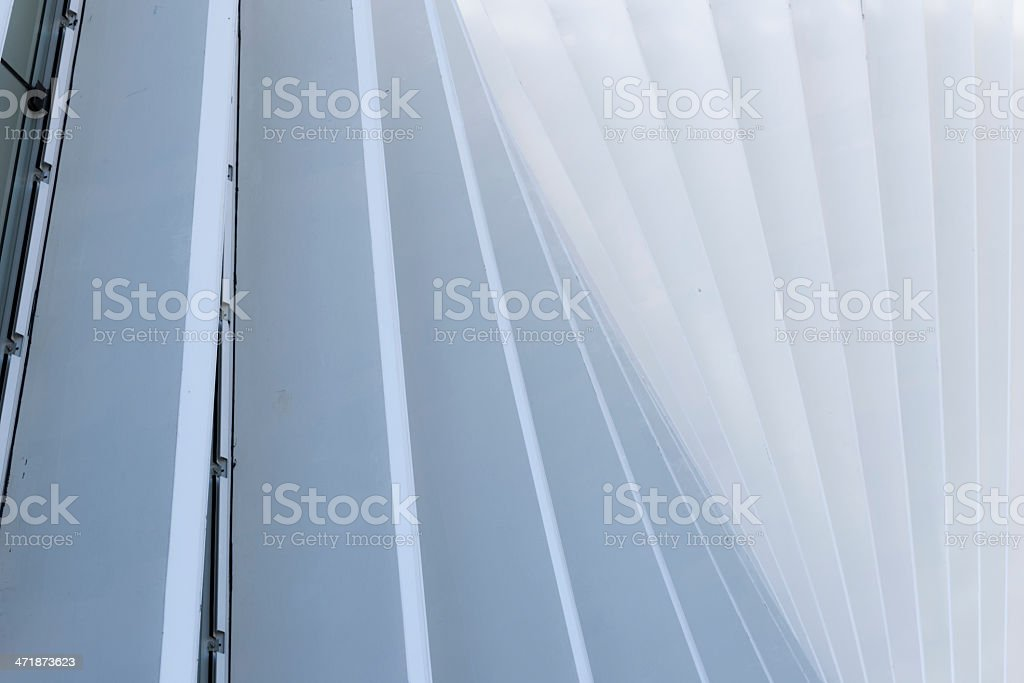 Abstract White Architecture Building Lines stock photo