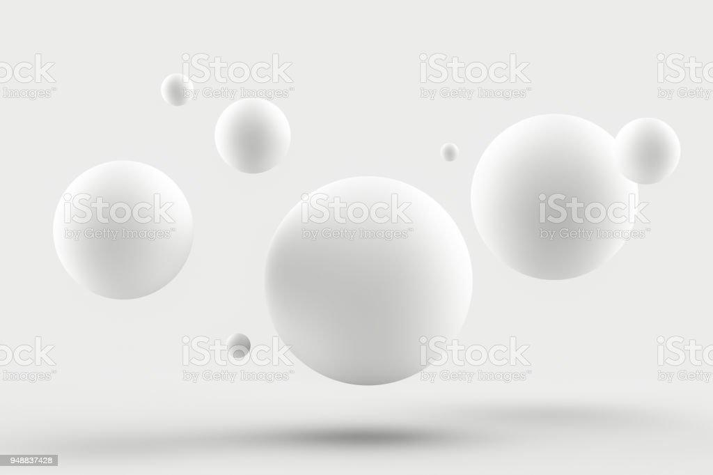 Abstracte witte achtergrond foto