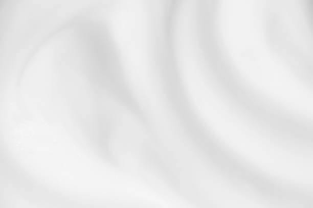 abstract white background wave cream blurred. - cream background stock pictures, royalty-free photos & images