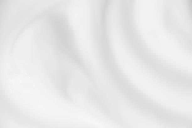 개요 흰색 배경 파 크림 흐리게입니다. - 크림 유가공 식품 뉴스 사진 이미지