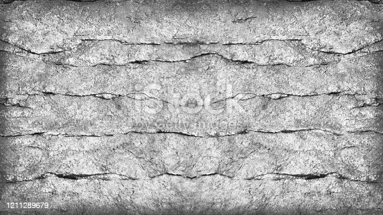 636075756 istock photo Abstract white black background. Grunge gray background. Stone background with copy space. 1211289679