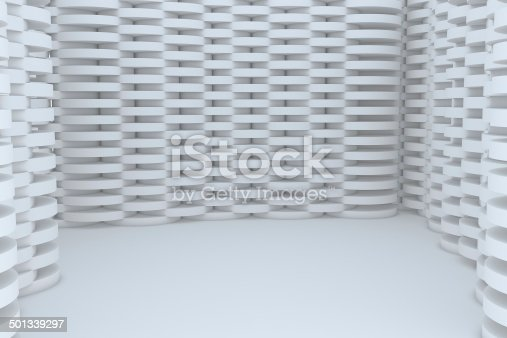 922736646 istock photo Abstract White Building Construction 501339297