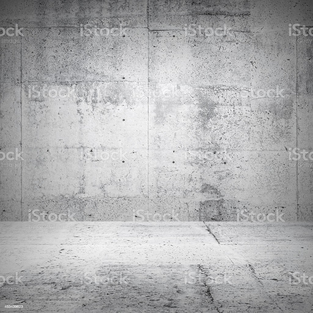 Abstract white concrete texture room stock photo