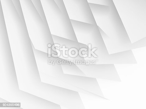 istock Abstract white digital graphic background 924355496