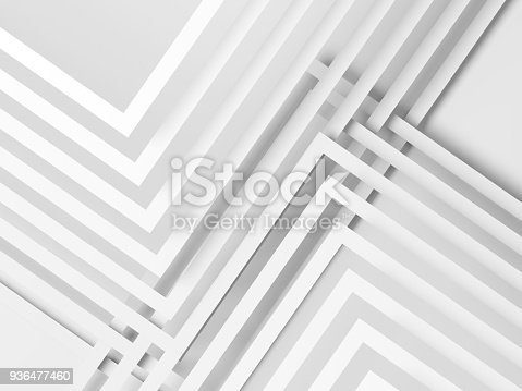 927319980 istock photo Abstract white digital graphic background, 936477460