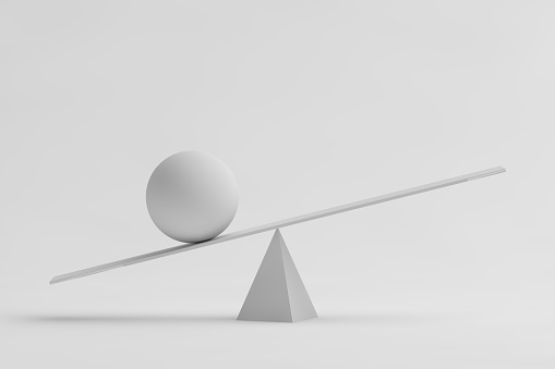 Abstract white equilibrium