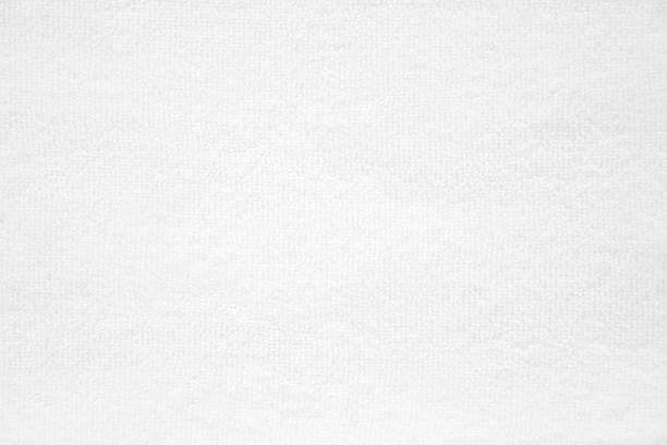 abstract white fabric texture background ストックフォト