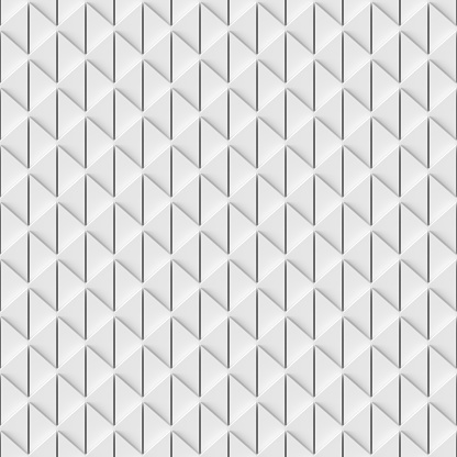 927104724 istock photo Abstract white geometric seamless background 1174073062