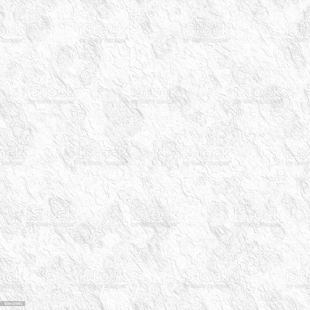 Abstract White Grunge Texture Seamless Pattern Stock Photo