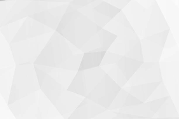abstrait blanc polygone sur la texture. - triangle forme bidimensionnelle photos et images de collection