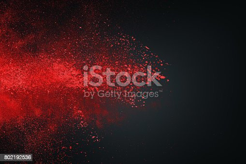 862273526istockphoto Abstract white red against dark background 802192536