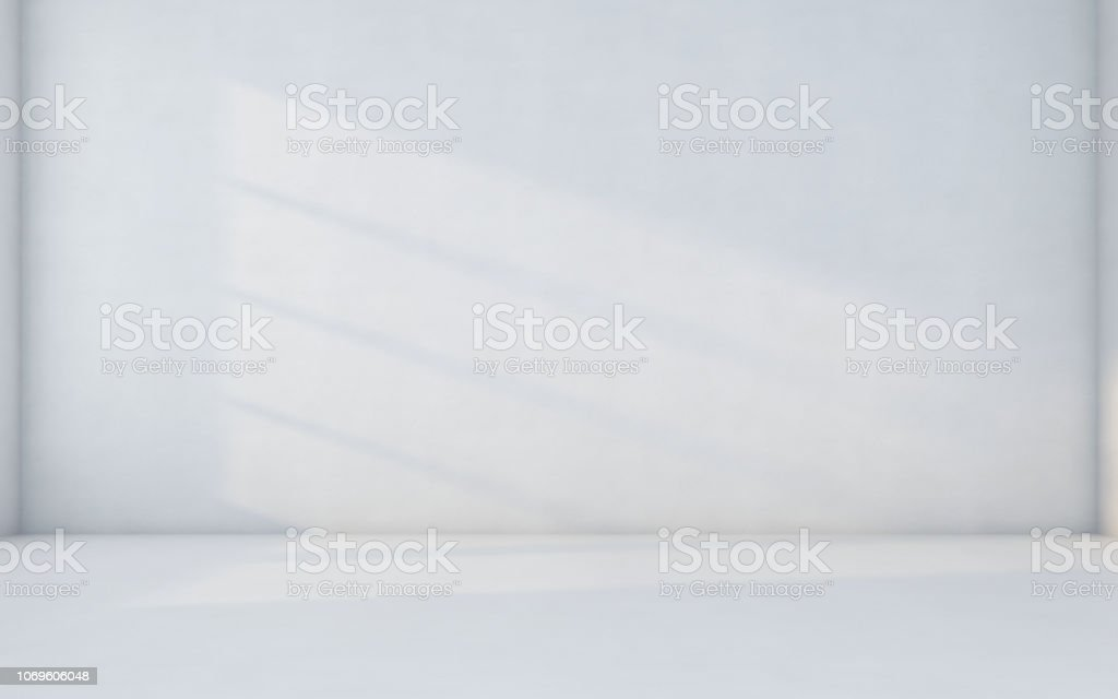 Abstract white room - Foto stock royalty-free di Affari