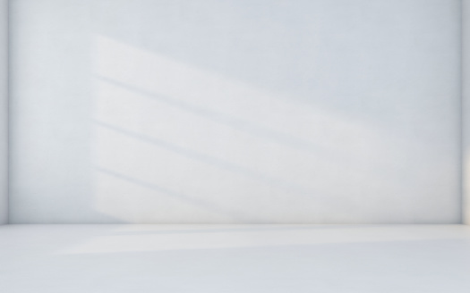 istock Abstract white room 1069606048