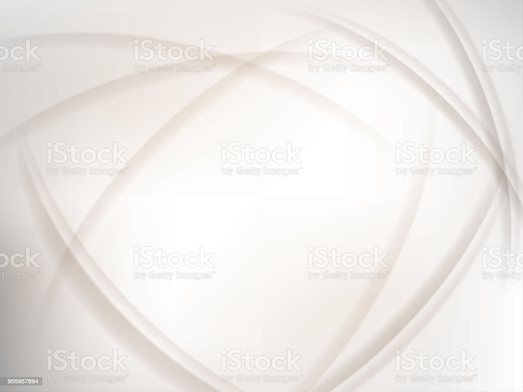 Abstract white wave background stock photo