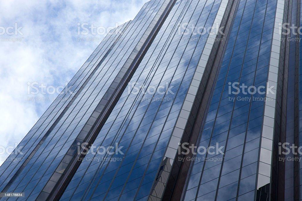 Abstract windows facade stock photo