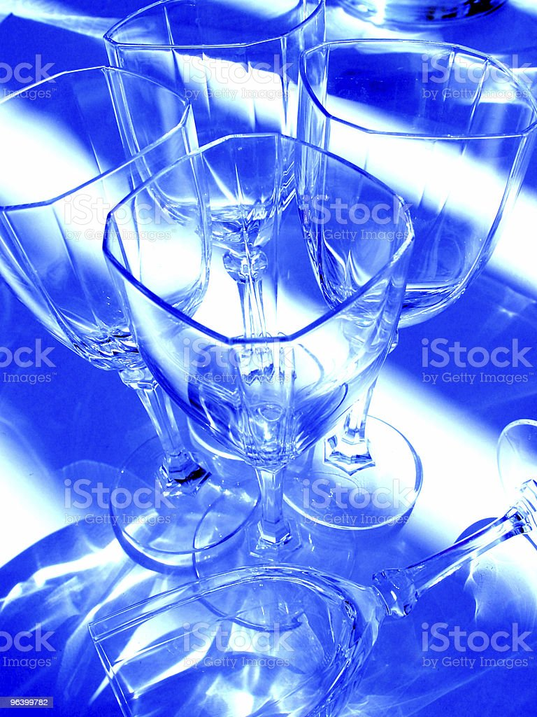 Abstract  wine glasses - Royalty-free Abstract Stock Photo