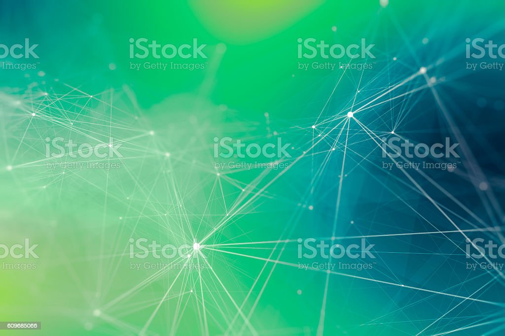 Abstract Wired Technology Background – Foto