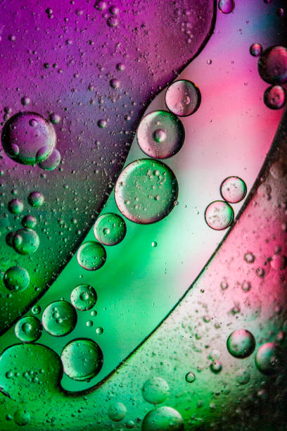 Abstract with Oil and Water 23 stock photo