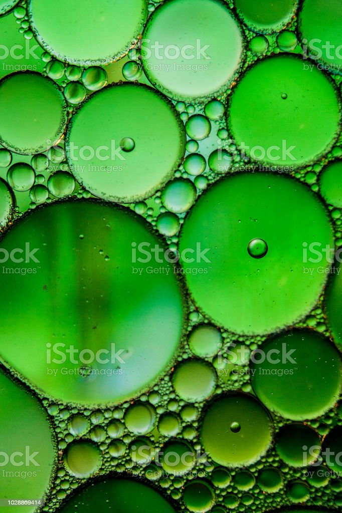 Abstract with Oil and Water 5 stock photo