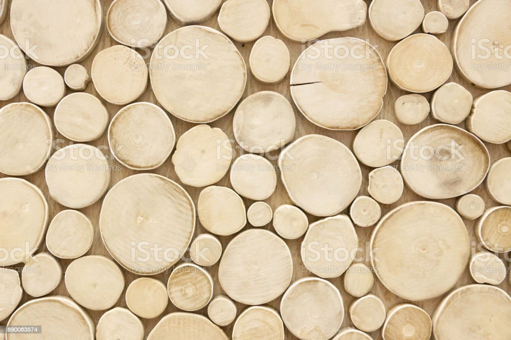 Abstract wood circle patterns.Concept background.